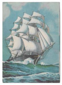 Nautica - Art Postcard Sailer Ship Sailboat 01.14