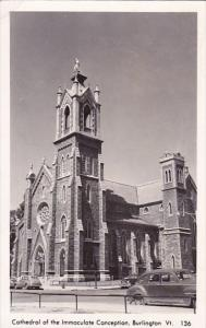 Vermont Burlington Cathedral Of The Immaculate Conception 1964