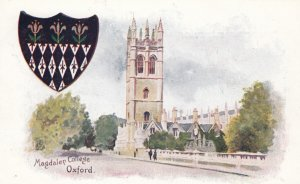 OXFORD , England , 1900-10s : Magdalen College