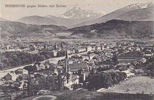 Austria Innsbruck gegen Sueden mit Serles