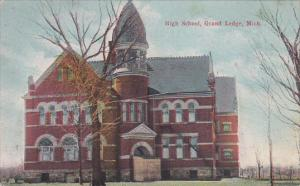 High School, GRAND LEDGE, Michigan, PU-1910
