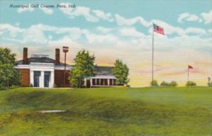Indiana Peru Municipal Golf Course 1942 Curteich