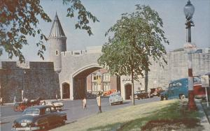 St. John's Gate, Porte St. Jean, Quebec, Canada, 1940-1960s