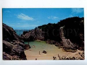 206405 BERMUDA South Shore Vintage photo postcard
