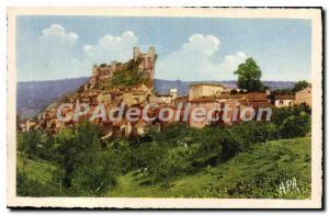 Old Postcard Penne General view