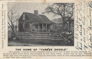 NORWALK, Connecticut, 1907; The Home of YANKEE DOODLE, Oyster Shell Point Rd.