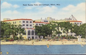 Biloxi MS - HOTEL BUENA VISTA and COTTAGES 1960s