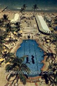 Raleigh Hotel Miami Beach FL Unused