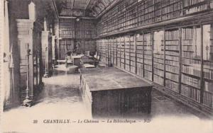 France Chantilly Le Chateau La Biblioteque Library