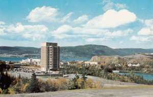 CORNER BROOK , Newfoundland , Canada , 50-60s ; Provincial Building