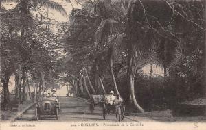 Guinea Conakry, Promenade de la Corniche, Vintage Auto Car Voiture Carriage