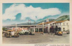 TIJUANA, Baja California, Mexico, 1930s; International Boundary Garita Intern...
