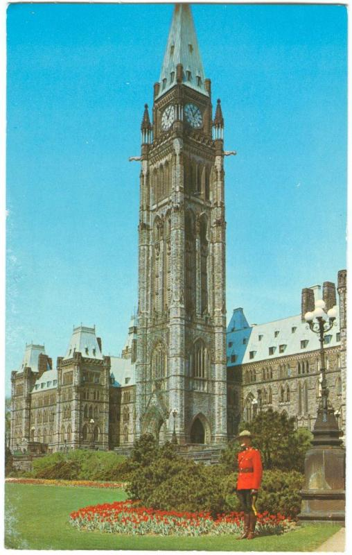 Canada, The Peace Tower, Ottawa, Ontario, unused Postcard