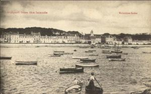 Millport UK From the Islands c1910 Postcard