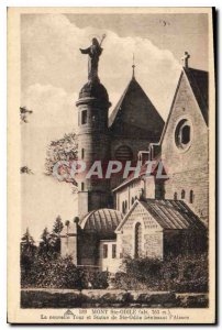 Old Postcard Mont Sainte Odile New Tower and Statue of Saint Odile blessing A...