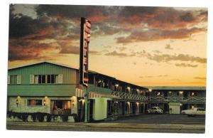 San Francisco Town House Motel Sunset Vtg CA Postcard