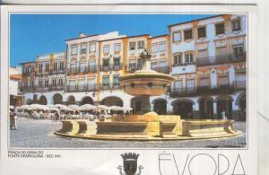 Postal 5085 : Pra? do Giraldo de Evora en Portugal