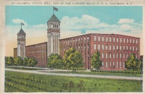 COLUMBIA , South Carolina , 1910s ; Olympic Cotton Mill