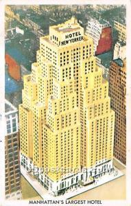 Hotel New Yorker New York City NY 1959