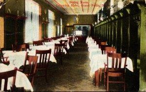 North Dakota Grand Forks Columbia Hotel Dining Room 1916