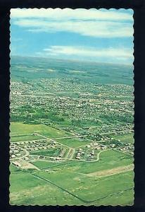 Dawson Creek, British Columbia/B.C., Canada Postcard,City Aerial View, 1960's?