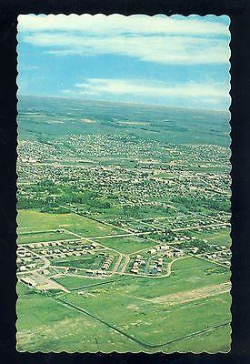 Dawson Creek, British Columbia/B.C., Canada Postcard,City Aerial View, 1960's?