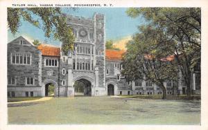 N.Y. Poughkeepsie, Vassar College, Taylor Hall