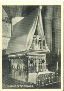 UK, London, Westminster Abbey, Shrine of St. Edward, mini card
