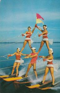 Florida Cypress Gardens Water Skiing Spectacle