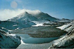 Washington Mount St Helens Volcanic Eruption 18 May 1980
