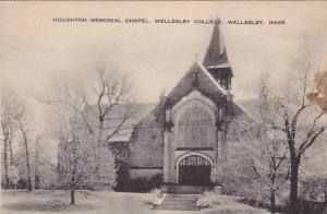 Houghton Memorial Chapel, Wellesley College, Wellesley, Massachusetts, 1900-1...