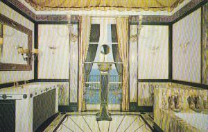 Bathroom Interior Vizcaya Dade County Art Museum Miami Florida