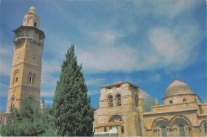 Israel Jreusalem Eglise Church of the Holy Sepulchre Tower
