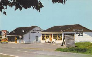 Exterior,  Artisanat Robert Jean Inc.,  St-Jean Port-Joli,  Quebec,  Canada, ...