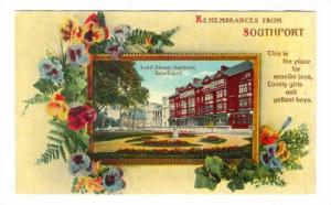 Remembrences from Lord Street Gardens, Southport, England, United Kingdom, 10...