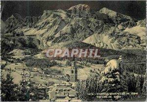 Modern Postcard The Tofane Cortina Belluno