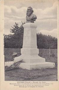 Monument Of Camille De La Croix, S.J., Poitiers (Vienne), France, PU-1919