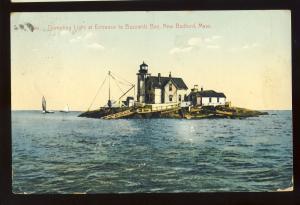 New Bedford, Massachusetts/MA/Mass Postcard, Dumpling Light/Lighthouse