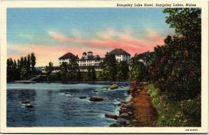 Rangeley Lake Hotel, Rangeley Lakes, Maine Vintage Postcard H17