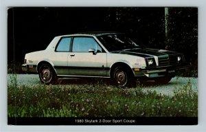 1980 Buick Skylark 2-Door Sport Coupe Chrome c1981 Postcard