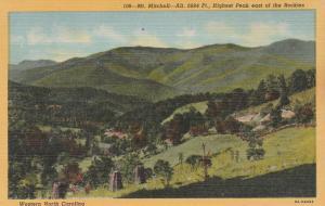 Mt Mitchell - Highest Peak East of Rockies - Western North Carolina - Linen