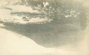 Birdseye View 1922 Wrangell Alaska RPPC Photo Postcard 10934