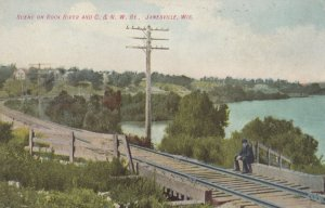 JANESVILLE , Wisconsin , 00-10s ; Rock River & Railroad
