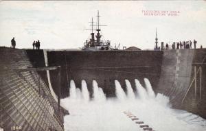 Flooding Dry Dock,Bremerton,Washington,00-10s