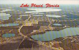 Florida Lake Placid Aerial View