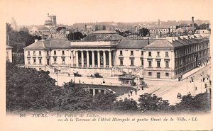 Le Palais de Justice Tours France Unused