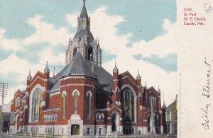 LINCOLN, Nebraska, PU-1906; St. Paul M.E. Church