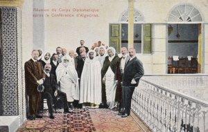 ALGECIRAS , Spain , 00-10s : Reunion du Corps Diplomatique apres la Conferenc...