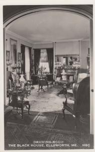 RP; ELLSWORTH, Maine; 30-40s; Drawing Room, The Black House