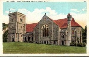 New York Poughkeepsie The Chapel Vassar College 1930